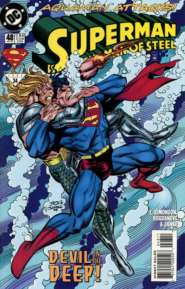Superman: The Man of Steel #48