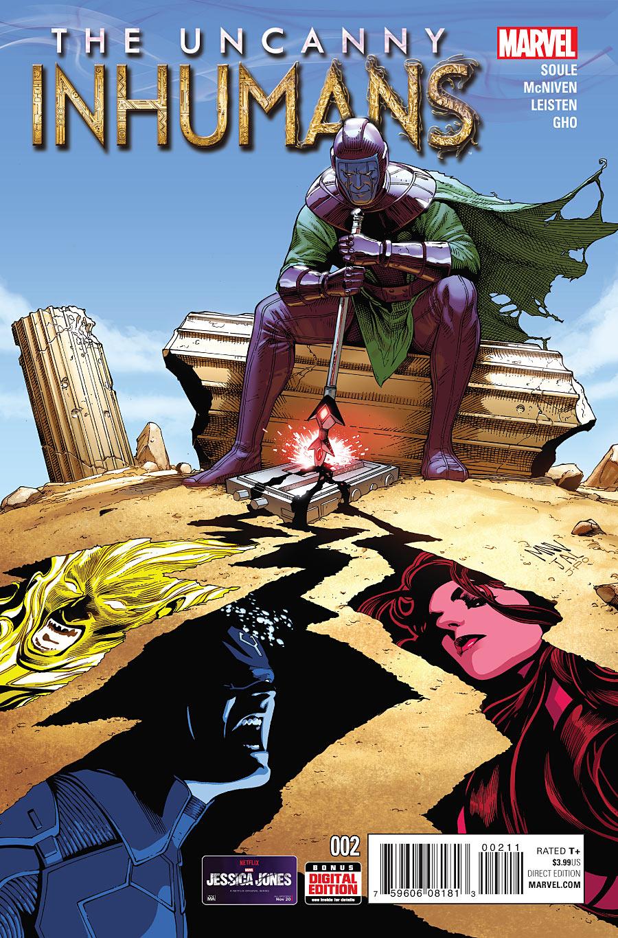 The Uncanny Inhumans #2