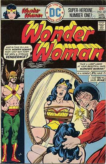 Wonder Woman #221