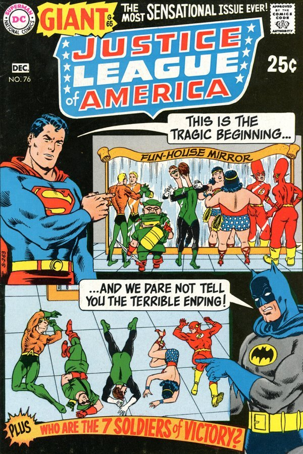 Justice League of America #76