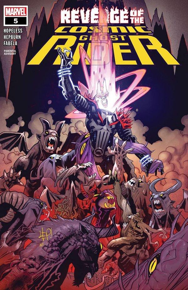 Revenge Of The Cosmic Ghost Rider #5