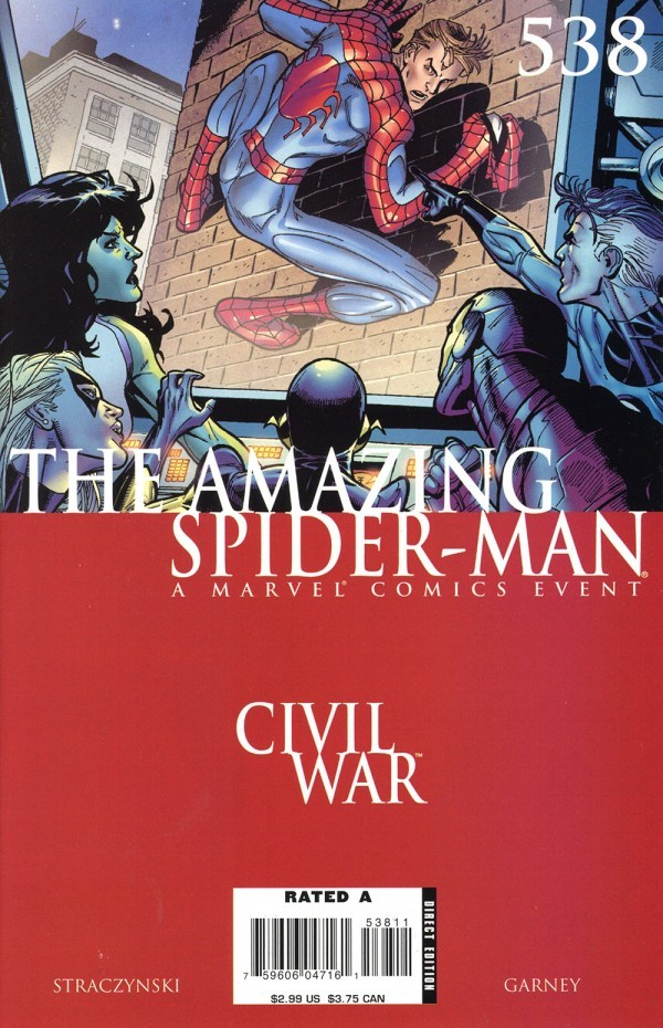 The Amazing Spider-Man #538