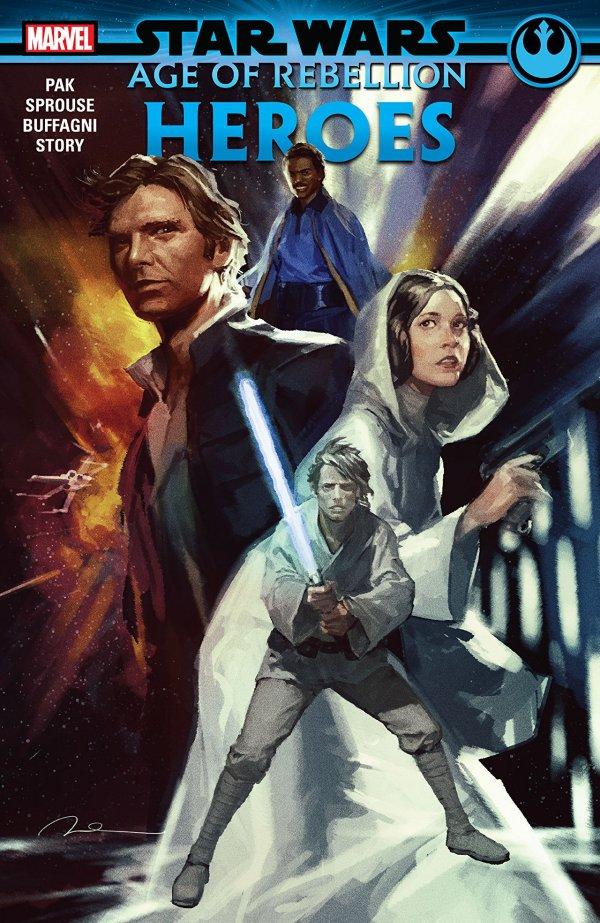 Star Wars: Age of Rebellion - Heroes TP