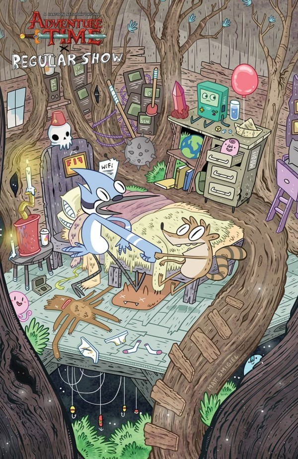 Adventure Time / Regular Show #6
