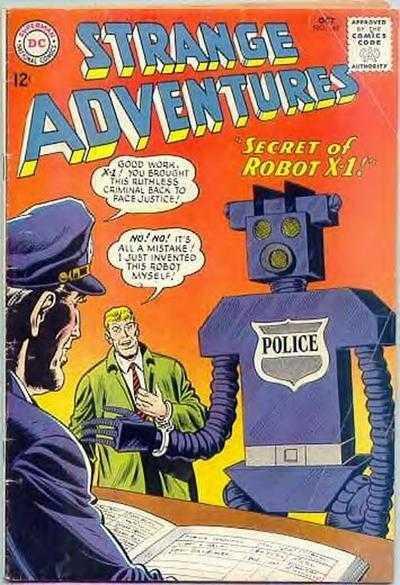 Strange Adventures #169