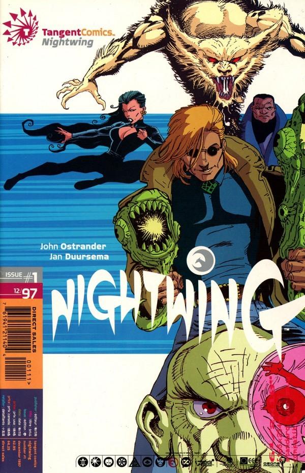 Tangent Comics: Nightwing #1