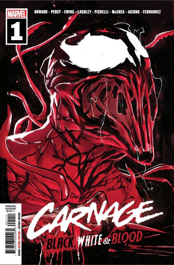 Carnage: Black, White & Blood #1