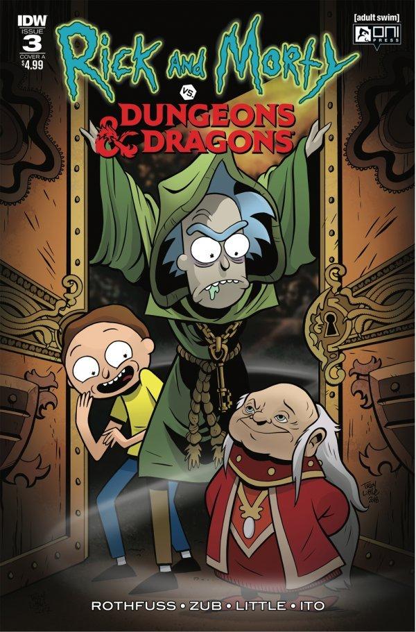 Rick and Morty vs Dungeons /& Dragons #1 Variant Cover Sara Richard 1:10 D/&D