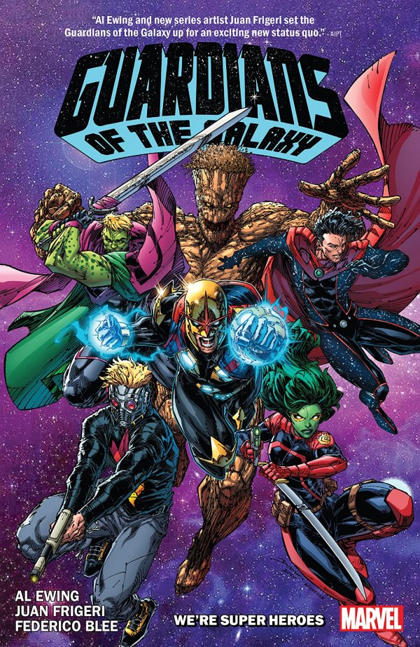 Guardians of the Galaxy by Al Ewing Vol. 3: We're Super Heroes Now TP