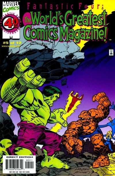 Fantastic Four: The World's Greatest Comics Magazine #5