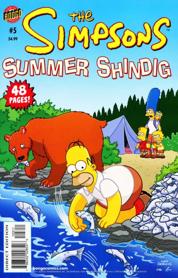 The Simpsons Summer Shindig #5