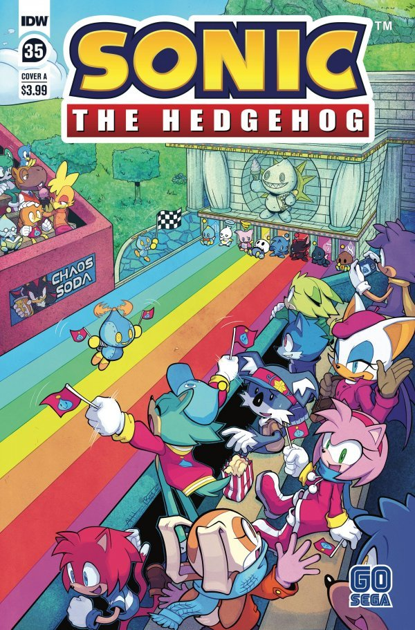 Sonic the Hedgehog #35