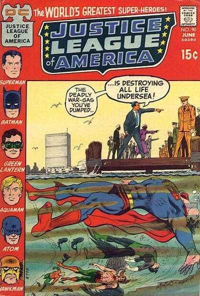 Justice League of America #90