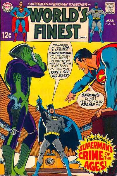 World's Finest Comics #183