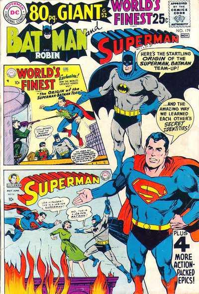 World's Finest Comics #179