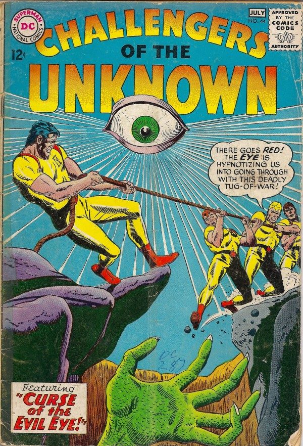 Challengers of the Unknown #44