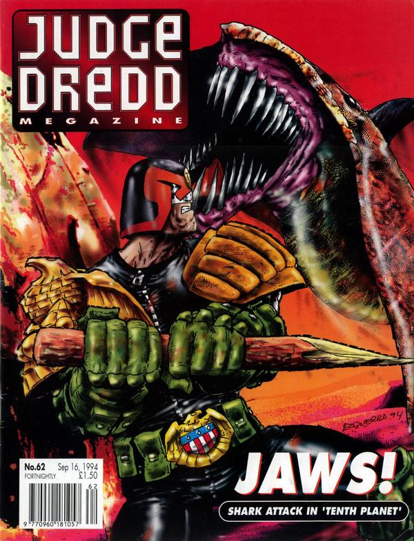 Judge Dredd: The Megazine #62