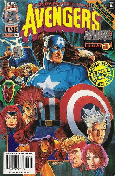 The Avengers #402