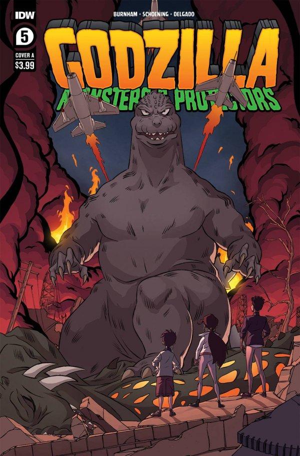 Godzilla: Monsters & Protectors #5