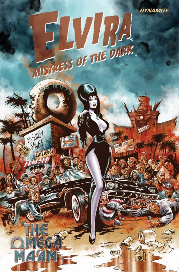Elvira Mistress of the Dark: The Omega Ma'am #1