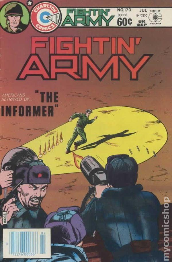 Fightin' Army #170