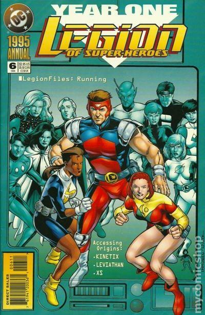 Legion of Super-Heroes Annual #6