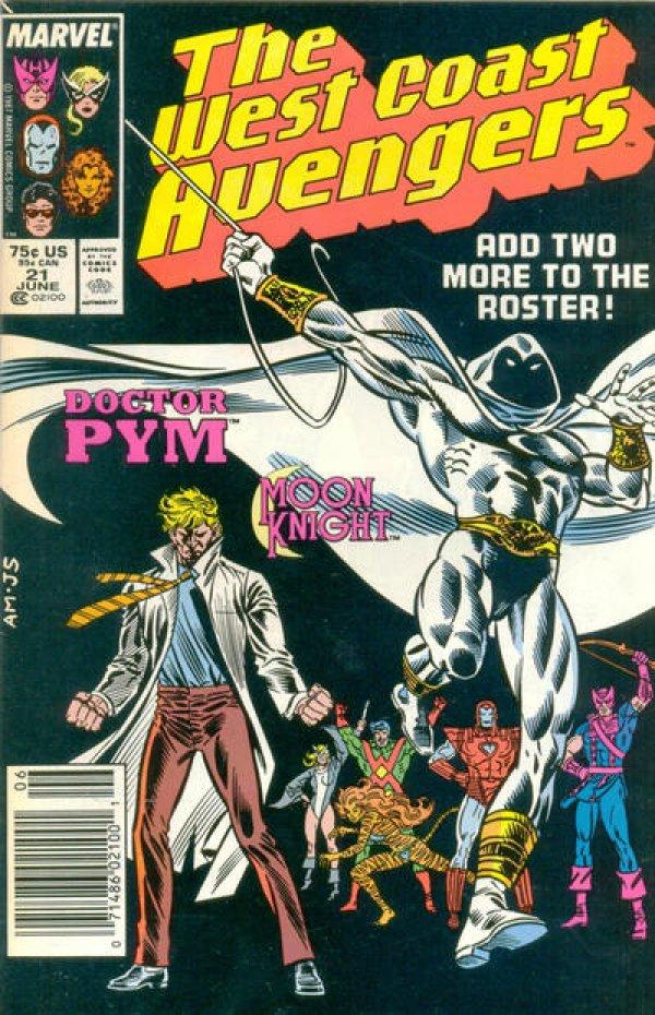 The West Coast Avengers #21