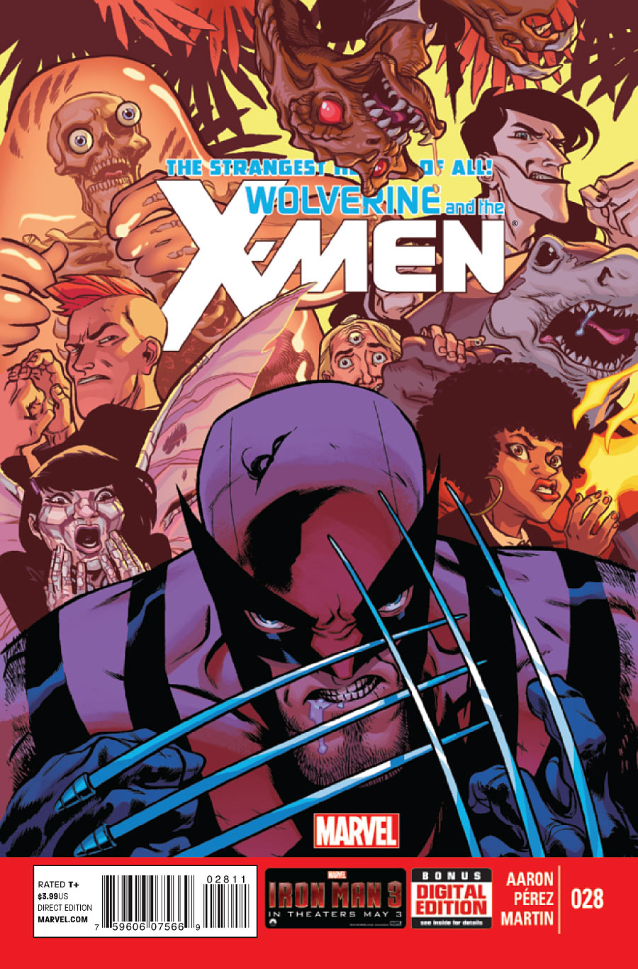 Wolverine and the X-Men #28