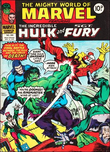 The Mighty World of Marvel #289
