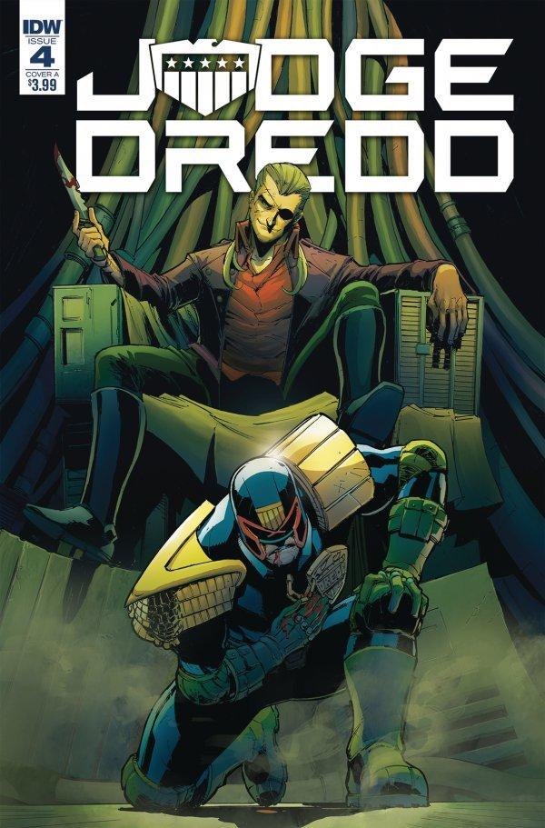 Judge Dredd: Under Siege #4