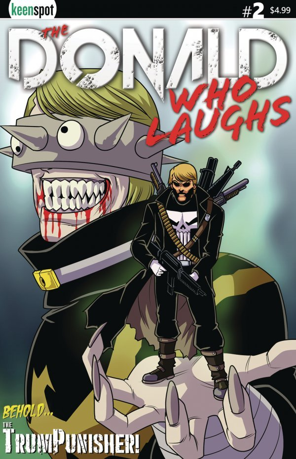 Donald Who Laughs #2 review
