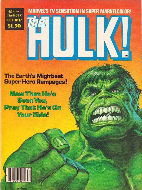 The Rampaging Hulk #17