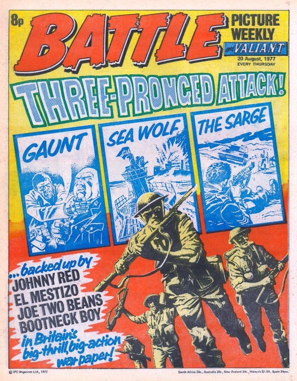 Battle Picture Weekly #129 (August 20th, 1977)