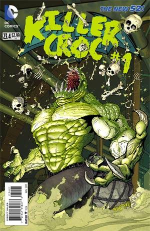 Batman and Robin #23.4 Killer Croc