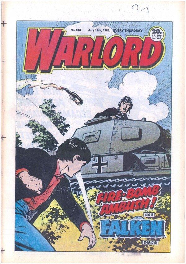 Warlord #616