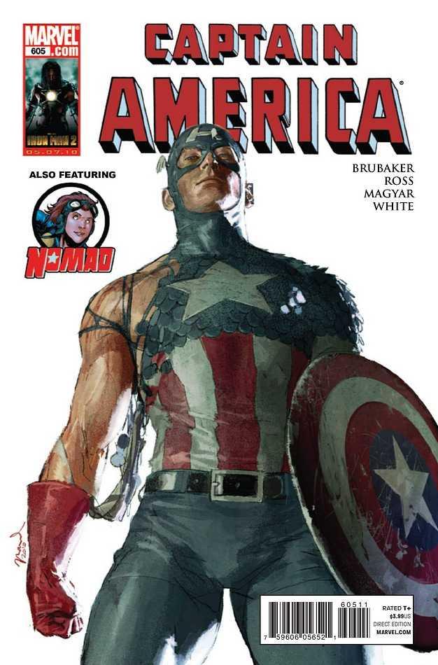 Captain America #605