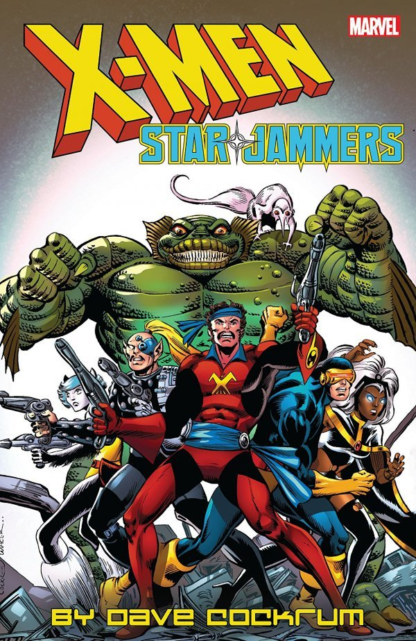X-Men: Starjammers by Dave Cockrum TP