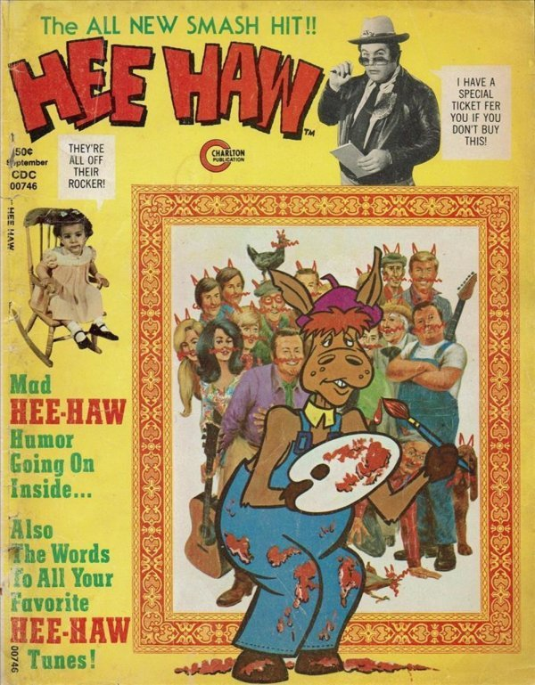 hee haw magazine #12