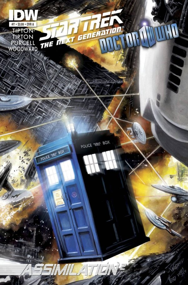 Star Trek: The Next Generation/Doctor Who: Assimilation2 #7