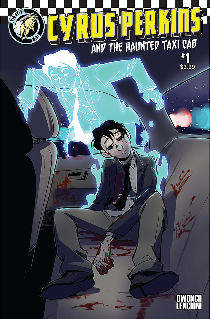 Cyrus Perkins and the Haunted Taxi Cab #1