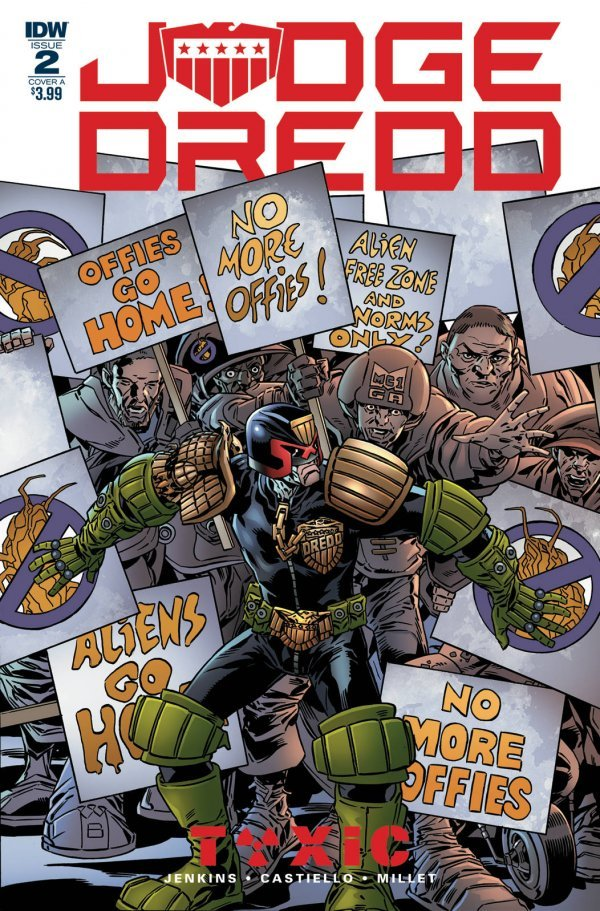 Judge Dredd: Toxic #2