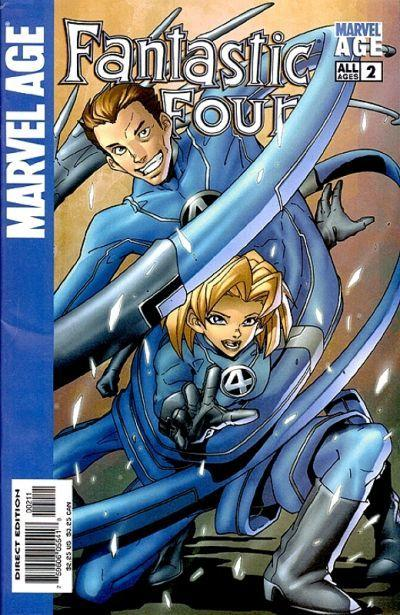 Marvel Age Fantastic Four #2