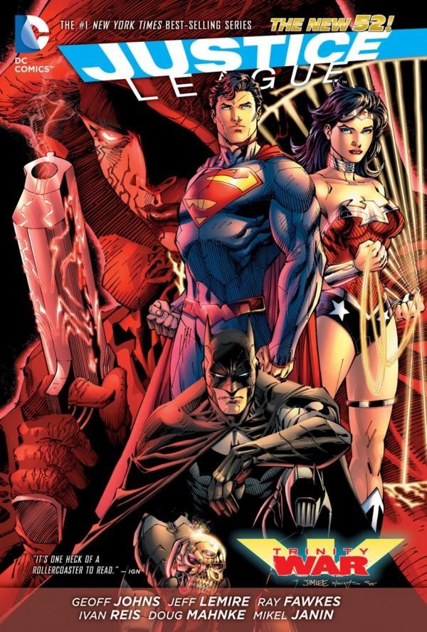 Justice League: Trinity War HC