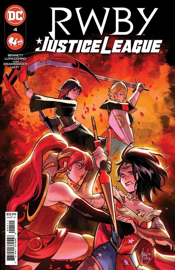 RWBY / Justice League #4
