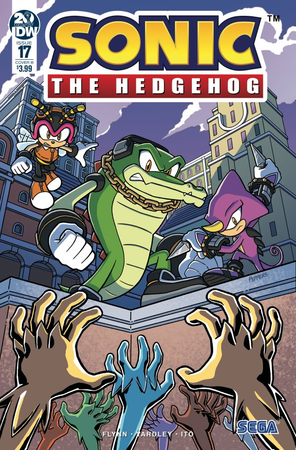 Sonic the Hedgehog #17