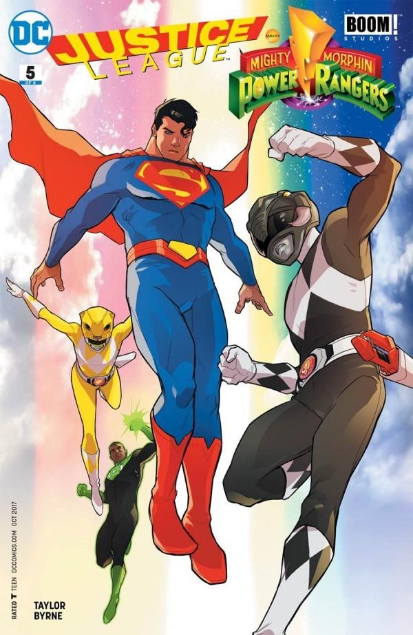 Justice League / Power Rangers #5
