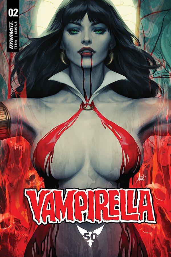 STANLEY ARTGERM LAU VAMPIRELLA #2 2019 Foil Variant