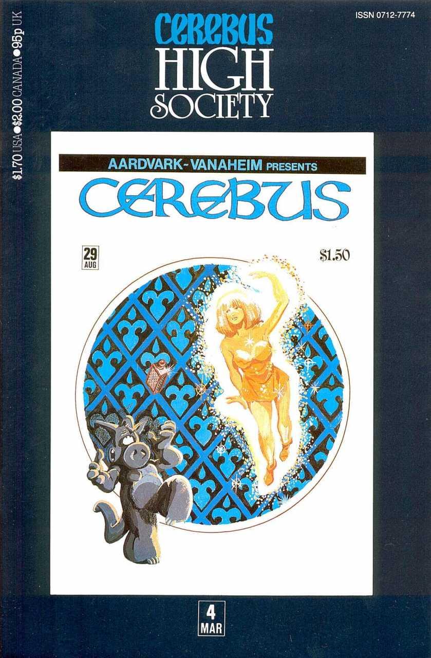 Cerebus High Society #4