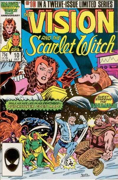 The Vision and the Scarlet Witch #10