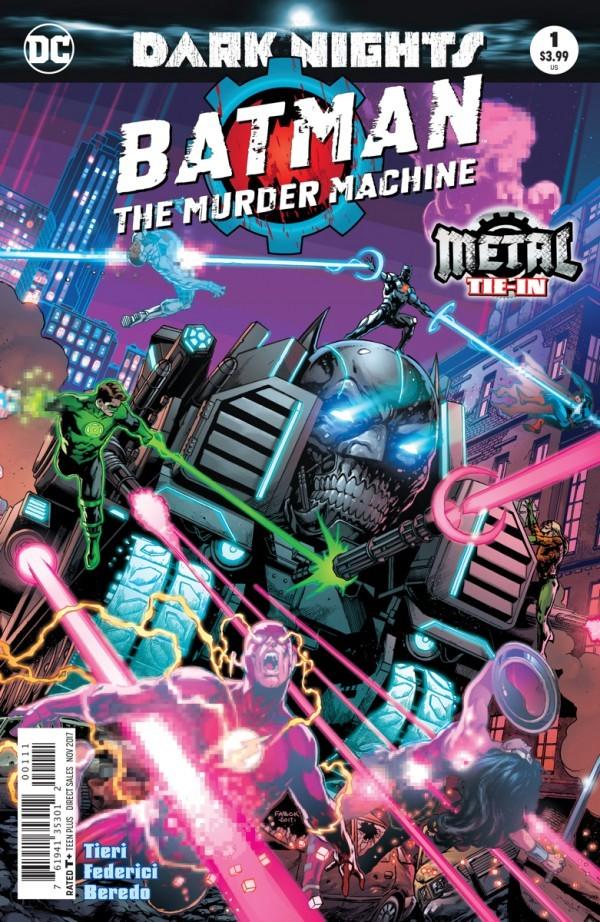 Batman: The Murder Machine #1
